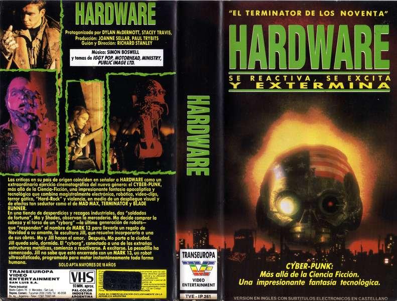 Hardware (Cyberpunk - Iggy Pop - Lemmy) | RaroVHS: VHS Argentina