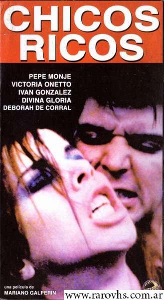 Ver Chicos Ricos (2000 / Dir. Mariano Galperín, con Victoria Onetto) Película Completa