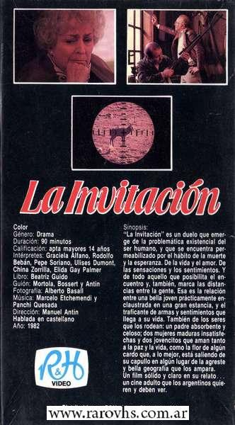 La Invitación Manuel Antin
