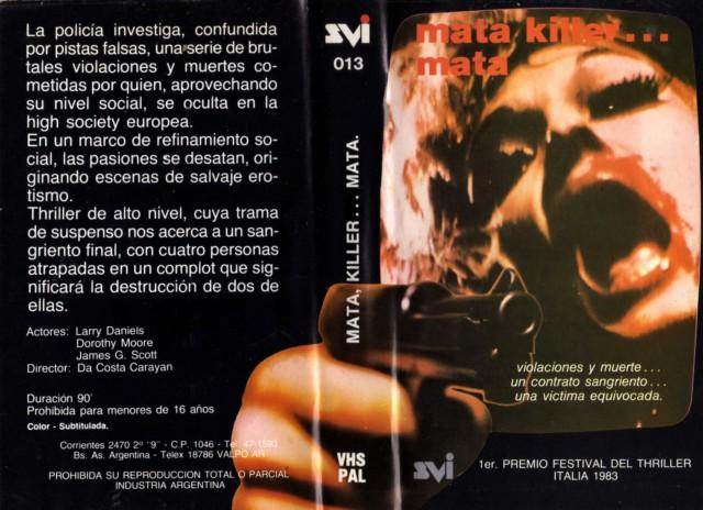 Mata killer... mata (Terror Griego)